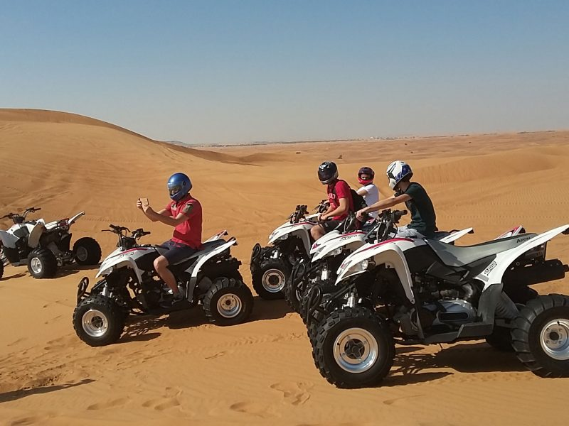 Morning Desert Safari with Quad Biking in Dubai