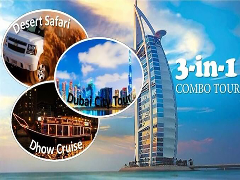 Dubai Standard 3 in 1 tour Package