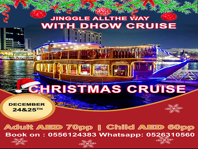 Christmas Dhow Cruise Dinner