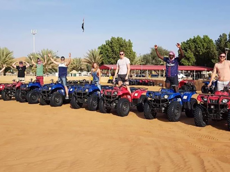 Morning Quad Biking Dubai 1 Hour