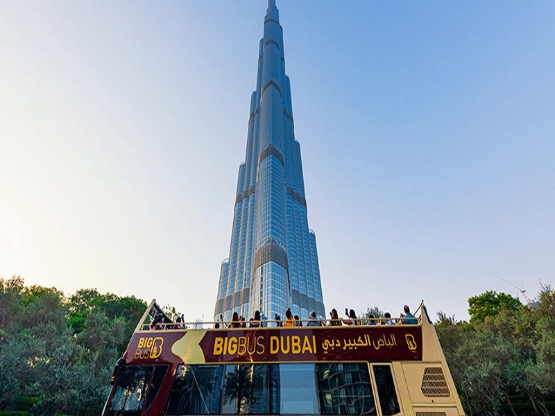Big Bus Dubai City Night Tour 24 hours