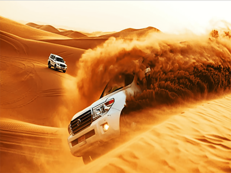 Evening Desert Safari Dubai with BBQ Dinner